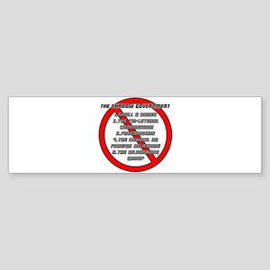 Anti-Masonic Bumper Sticker