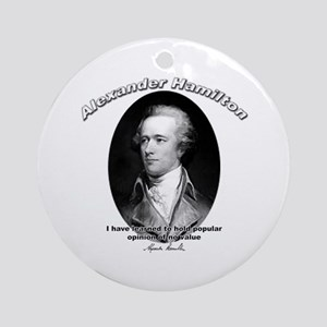 Alexander Hamilton 03 Ornament (Round)