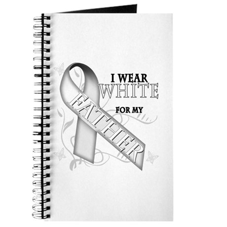 I Wear White for my Father Journal