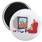 I love TV Magnet