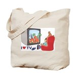 I love TV Tote Bag