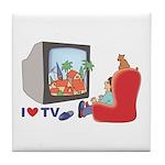I love TV Tile Coaster