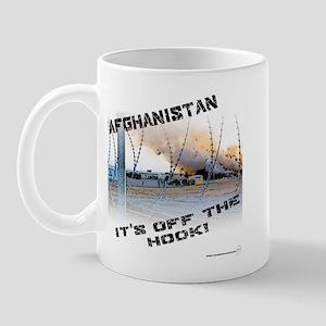 Afghanistan is Off the Hook Mug