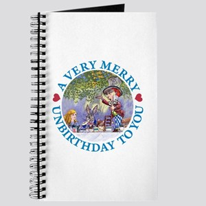A VERY MERRY UNBIRTHDAY Journal
