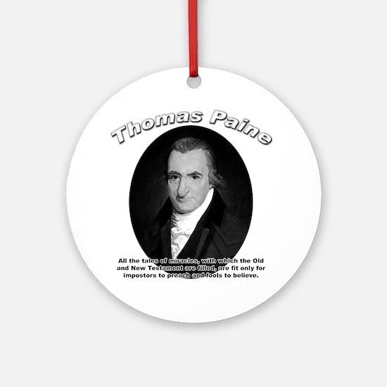 Thomas Paine 04 Ornament (Round)