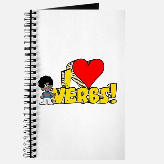 I Heart Verbs - Schoolhouse Rock! Journal