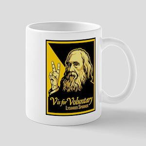 V is For Voluntary Mug