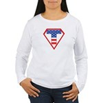 Super Tea Party Patriot Women's Long Sleeve T-Shir