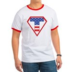 Super Tea Party Patriot Ringer T