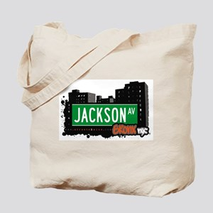 Jackson Av, Bronx, NYC Tote Bag
