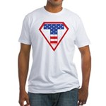 Super Tea Party Patriot Fitted T-Shirt