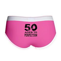 50th Birthday Women's Boy Brief