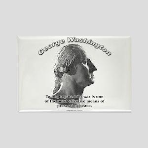 George Washington 03 Rectangle Magnet
