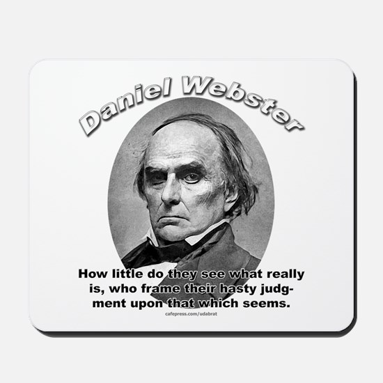 Daniel Webster 02 Mousepad