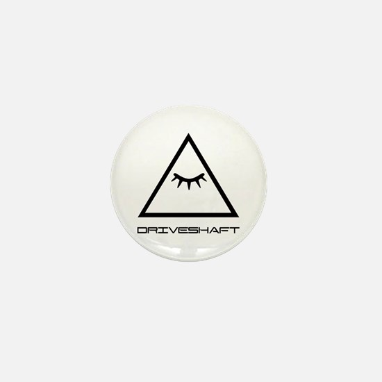 Drive Shaft Band Pyramid Logo Mini Button