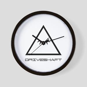 Drive Shaft Band Pyramid Logo Wall Clock