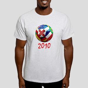 2010 Soccer Ball Light T-Shirt