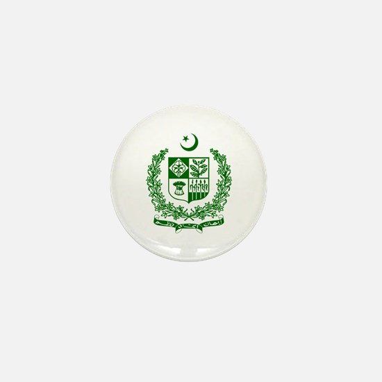 Pakistan Coat of Arms Mini Button