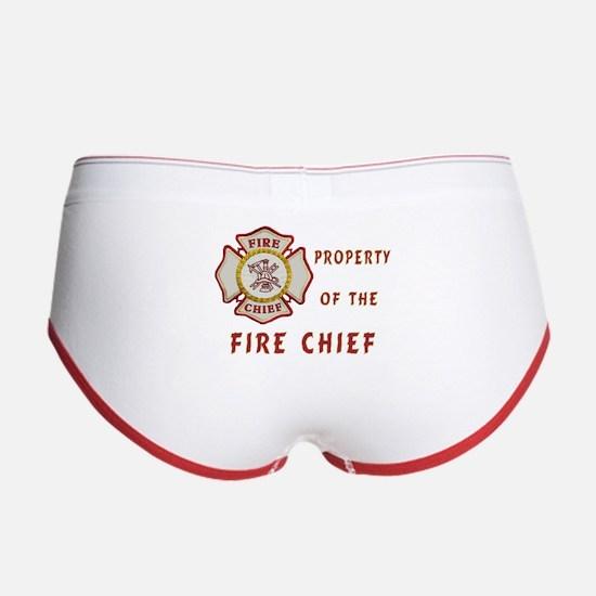 Fire Chief Property Women's Boy Brief