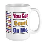 Count on Me Large Mug