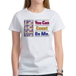 Count on Me Women's T-Shirt