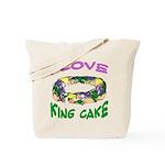 I LOVE KING CAKE Tote Bag