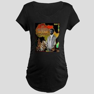 selassie africa Maternity T-Shirt