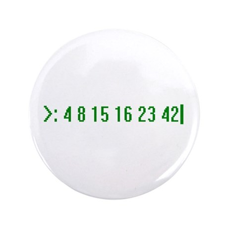 """Numbers 3.5"""" Button (100 pack)"""