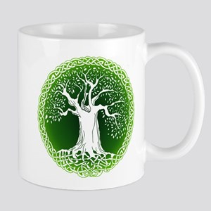 Green2 Celtic Tree Mug