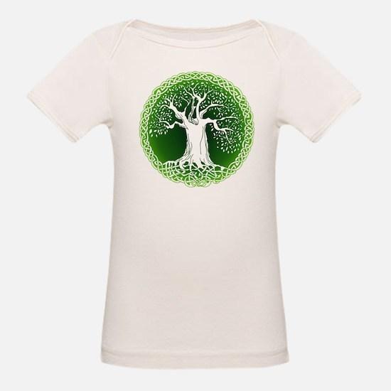Green2 Celtic Tree Tee