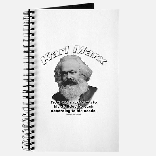 Karl Marx 02 Journal