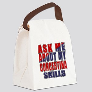 Ask About My Concertina Skills Canvas Lunch Bag