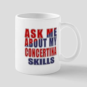 Ask About My Concertina Skills 11 oz Ceramic Mug