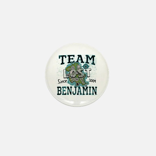 Team Benjamin Mini Button
