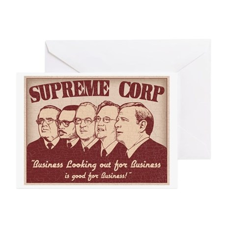 The Supreme Corp Greeting Cards (Pk of 10)
