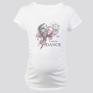 Love to Dance Maternity T-Shirt