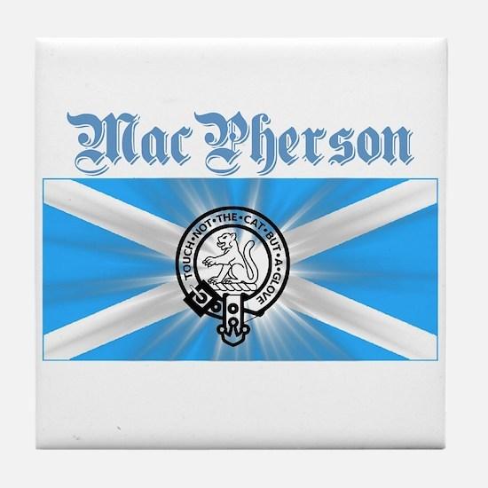 Unique Scottish highlander Tile Coaster