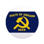 """New Oregon Flag 3.5"""" Button (100 pack)"""