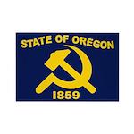 New Oregon Flag Rectangle Magnet (100 pack)