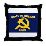 New Oregon Flag Throw Pillow