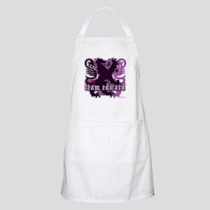 Team Edward Royal Purple Heart Apron