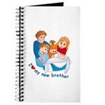 I Love My New Brother Journal