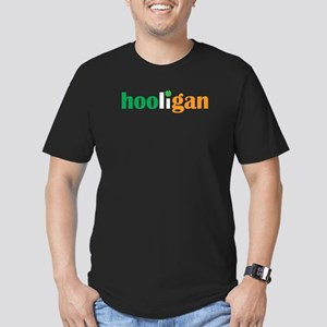 Irish Hooligan Men's Fitted T-Shirt (dark)
