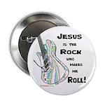 Jesus is my Rock! Button