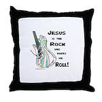 Jesus is my Rock! Throw Pillow