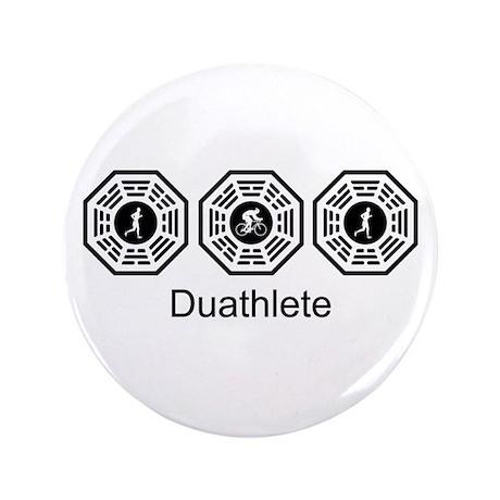 """Duathlon Lost 3.5"""" Button"""