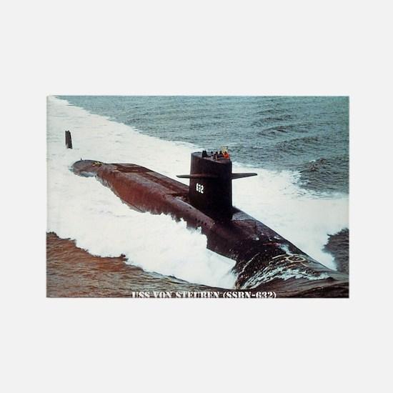 USS VON STEUBEN Rectangle Magnet