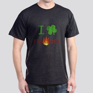 I Love Firebush Dark T-Shirt