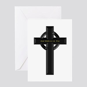 God Believes in You Greeting Card