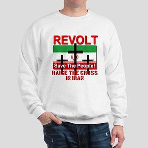 Raise the Cross in Iran Sweatshirt